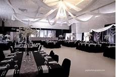 wedding decor by dar s decorating with grey and silver damasks black and white silks crystal