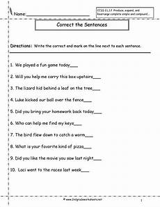 writing question sentences worksheets 22220 second grade sentences worksheets ccss 2 l 1 f worksheets