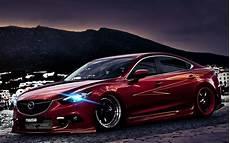 Wallpapers Tuning Mazda 6 Headlights Low Rider