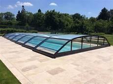 abris de piscine bas elitys ansea abri de piscine bas t 233 lescopique ec creation