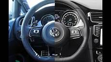 golf 7 r lenkrad steering wheel wrap golf r vlog 18