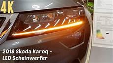 2018 skoda karoq led scheinwerfer 4k