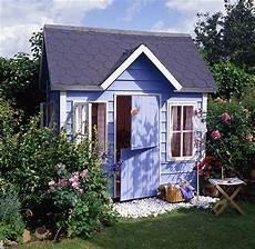 holzhaus günstig kaufen kinderhaus blau weiss ist der sommer gartenhaus