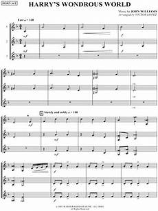 quot nimbus 2000 quot from harry potter and the sorcerer s stone sheet music solo in bb