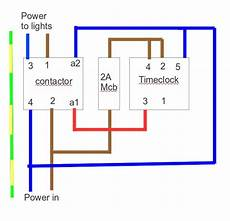 wiring a contactor with an mcb and rccd d i y kit uk420