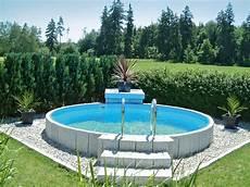 garten pool guenstig kaufen bildergebnis f 252 r poolgestaltung stahlwandbecken garten