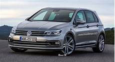 2019 golf 8 rendered in line with vw s models