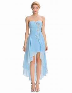 Princess Robe Bal De Promo High Low Evening Dress Front