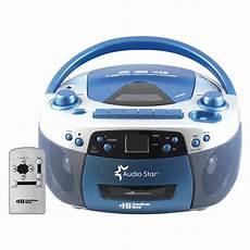 cd cassette player hamiltonbuhl audiostar boombox radio cd usb cassette
