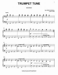 trumpet tune sheet music henry purcell piano duet