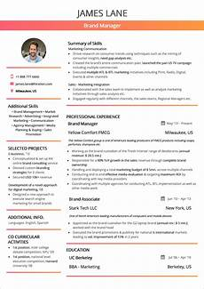 resume format 2020 guide with exles