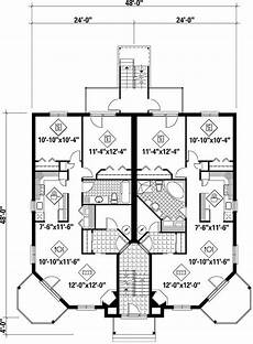 condominium house plans plan 80584pm condo floor plans house plans duplex plans