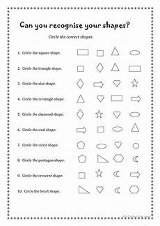 shapes worksheets islcollective 1020 can you recognise your shapes worksheet free esl printable worksheets made by teachers