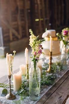 boho blossom summer wedding ideas flower table