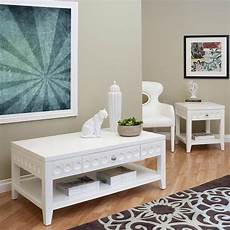 White Coffee And End Table Sets