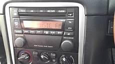 mazda mx5 2002 radio mp4