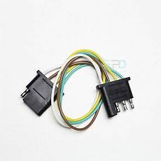 flat wire harness pin 4 pin trailer light wiring harness extension flat wire connector 1ft 18awg ebay