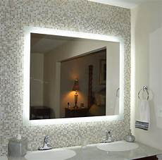 lighted vanity mirror make up wall mounted led mam94844