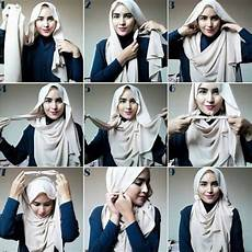 Cara Memakai Jilbab Pashmina Agar Tidak Berantakan