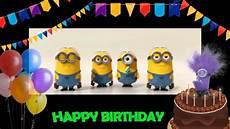 Bild Happy Birthday - minions happy birthday salsa style