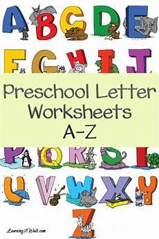 free preschool a z worksheets free homeschool deals