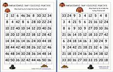 skip counting mazes worksheets 11955 thanksgiving archives homeschool den