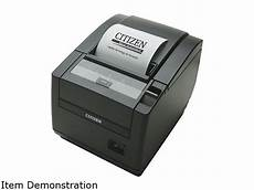 citizen ct s601 direct thermal pos receipt printer ct