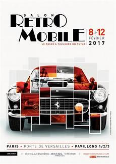 salon retro mobile poster of r 233 tromobile 2017 exhibition salon r 233 tromobile