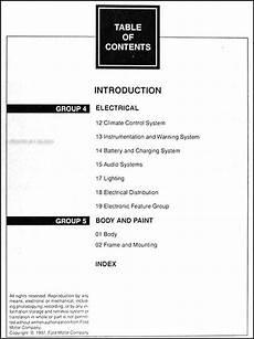 auto manual repair 1998 lincoln navigator engine control 1998 ford expedition and lincoln navigator repair shop manual set original