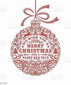 merry christmas ornament stock vector art 183954235 istock