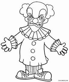 Clown Malvorlagen Ausdrucken Printable Clown Coloring Pages For Cool2bkids