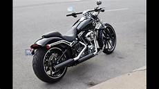harley breakout 2015 2015 harley davidson breakout start up and ride
