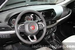 Fiat Tipo Interior At The 2015 Dubai Motor Show