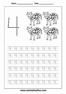 traceable number worksheets 4 google search learning