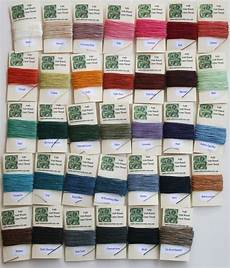white clover kiln shop update now 34 colors of irish waxed linen thread