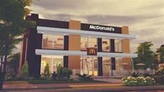 Mcdonald S Restaurant Sims The Sims 4 Lots Sims 4