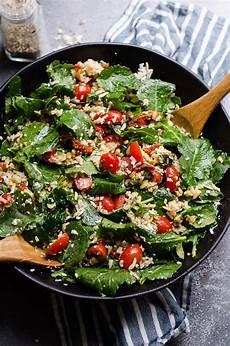 baby kale salad recipe ifoodreal healthy family recipes