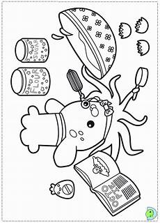 octonauts coloring pages to print coloring home