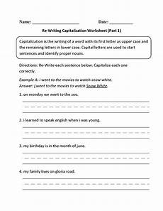 capitalizing places worksheets 15962 capitalization worksheets re writing capitalization worksheet part 1