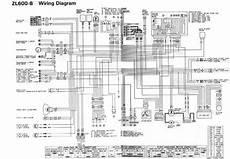 kawasaki zl600 1996 motorcycle wiring diagram all about wiring diagrams