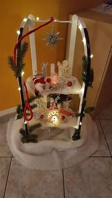 unser alter schlitten im neuem glanz weihnachtsdeko