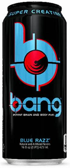 caffeine in bang energy drink
