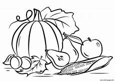 autumn harvest fall coloring pages printable