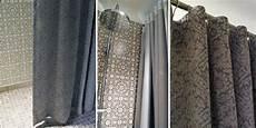 rideau salle de bain tissu rideau de en tissus rideaux de en tissu