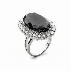 fink s jewelers fink s 18k white gold oval black diamond