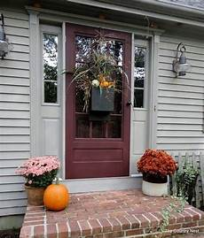 Decorations Front Door by 67 And Inviting Fall Front Door D 233 Cor Ideas Digsdigs