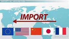 Import Aus Usa - what is an import definition exle lesson