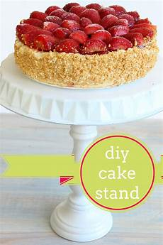 diy cake stand tutorial
