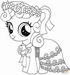 Malvorlagen My Pony Gratis Disegno Di My Pony Sweetie Da Colorare
