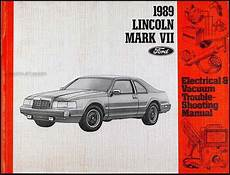 details about 1989 ford lincoln mark vii electrical 1989 lincoln mark vii electrical and vacuum troubleshooting manual